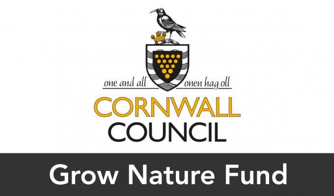 Cornwall Council: Grow Nature Fund logo