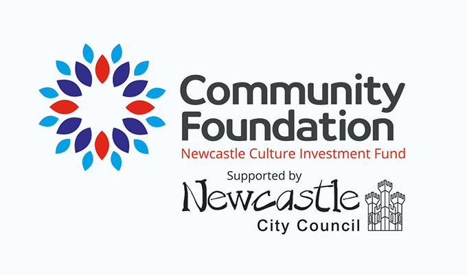 £50,000 Newcastle Arts and Culture Fund logo image