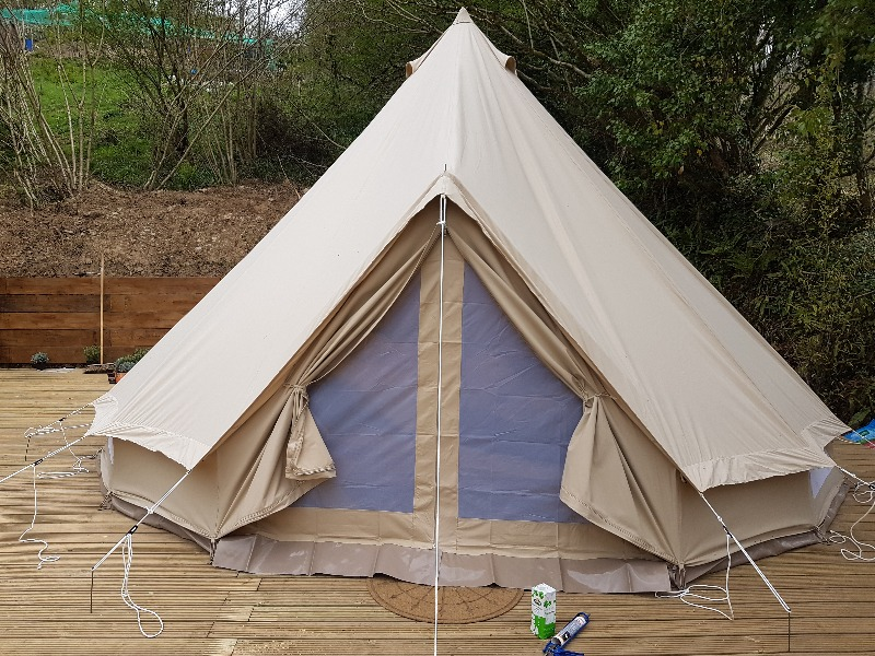 TENTS WILL NOT HAVE ELECTRIC HOOKUP BUT THERE WILL BE CHARGING PORTS ON SITE FOR YOUR PHONES LAPTOPS ETC. & The Copper Pot Campsite. a Business Crowdfunding Project in ...