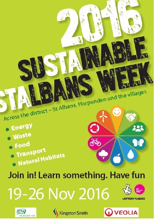Sustainable St Albans poster