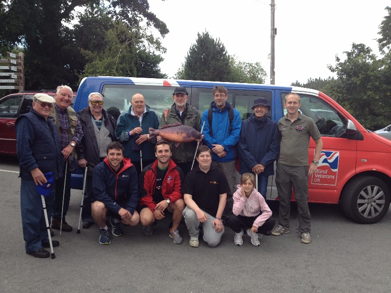 Forces CARP with Blind Veterans UK