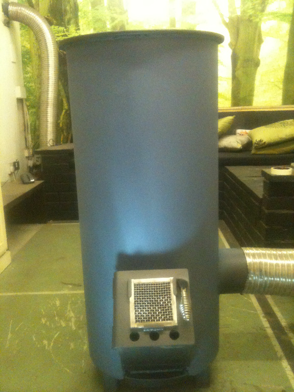 Affordable heating by leyland stoves ltd an environment for Rocket stove mass water heater
