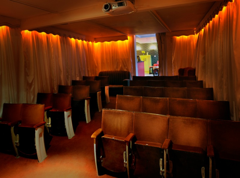 The Roxy's auditorium