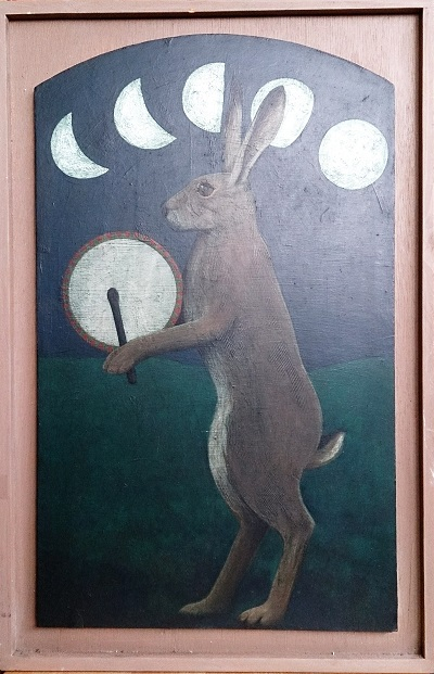 Hare with a Drum (Ambassador of the Moon) Peter Fox