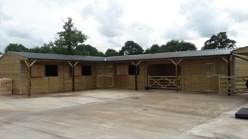 Example stable block