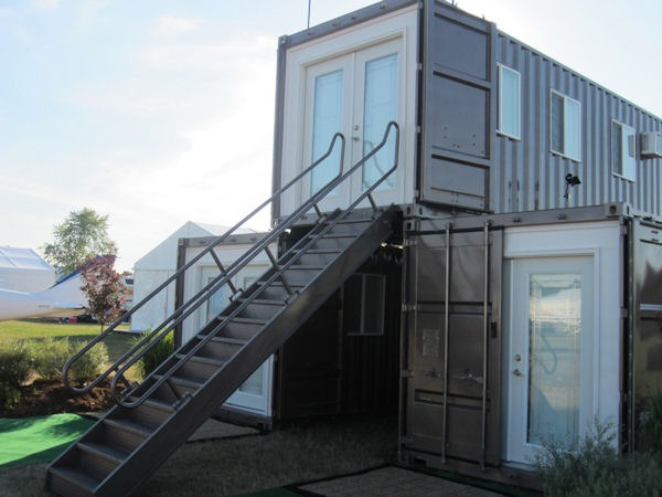 Affordable eco home container converts a community - Affordable container homes ...