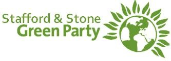 Stafford & Stone Green Party logo