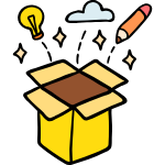 Creativity free icon
