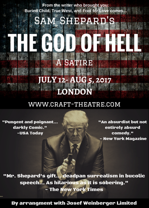 Craft Theatre God Of Hell London