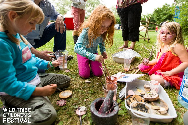 Wild Tribe Children's Festival. Photo Guy Harris