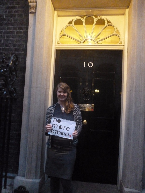 Visiting Number 10 Downing Street, January 2016