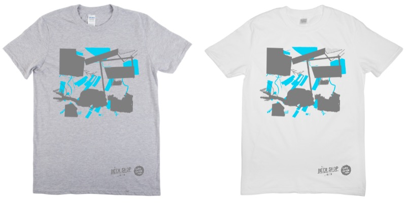 Luke Drozd T-Shirts in grey or white