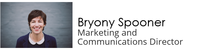 Bryony Spooner - marketing and communications director