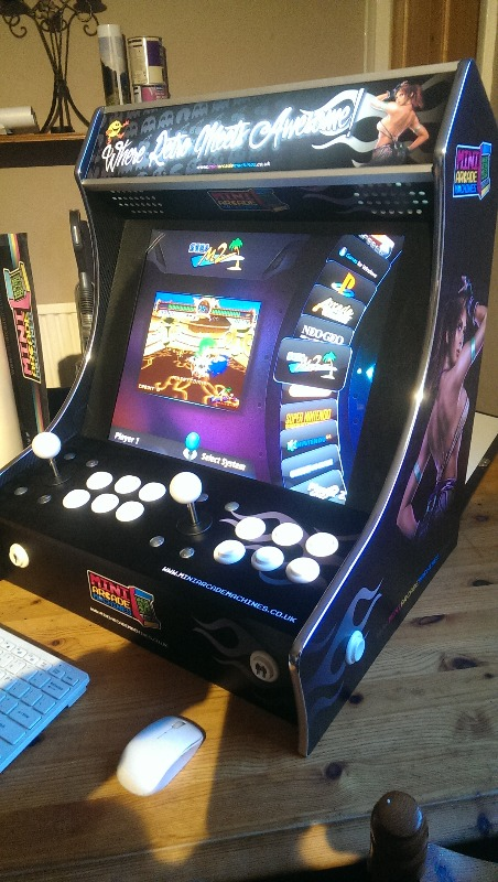 Mini Arcade Machines A Business Crowdfunding Project In