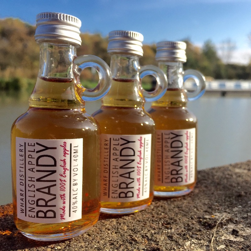 Our apple brandy miniatures