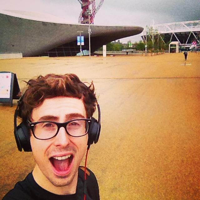 Training at the Olympic Park - July 2015