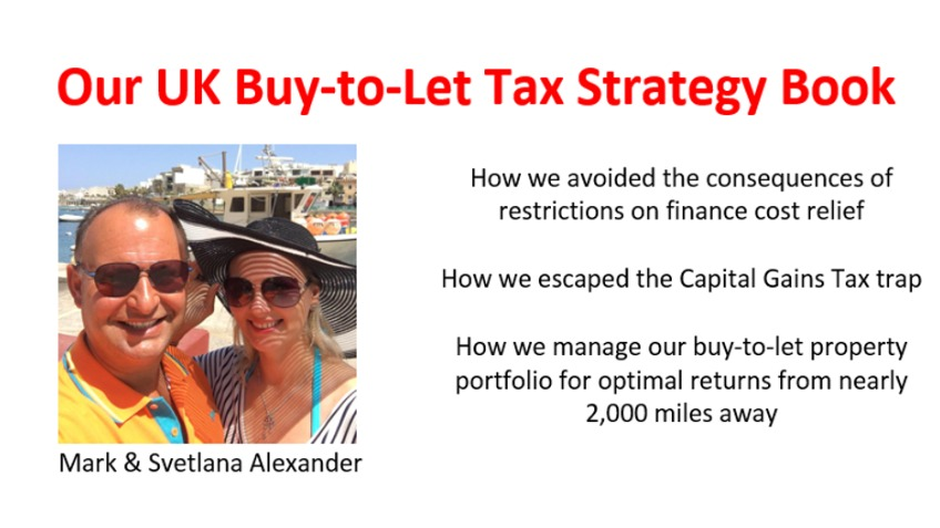 Our UK Buy-to-Let Tax Strategy Book