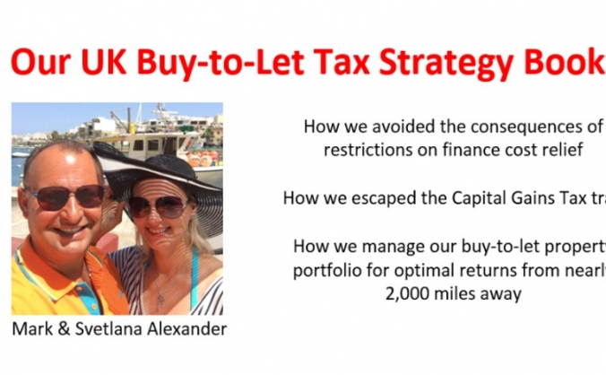 Our uk buy-to-let tax strategy book image