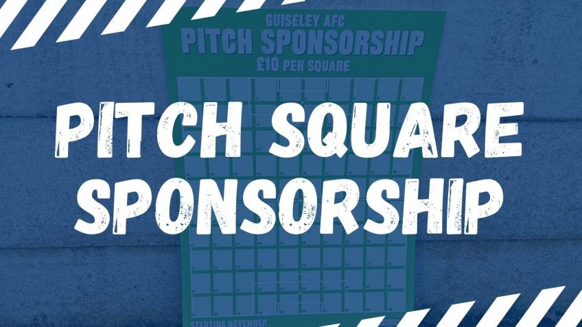 2020/21 Pitch Square Sponsorship
