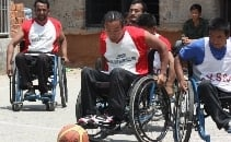 Sports wheelchairs for Nepal
