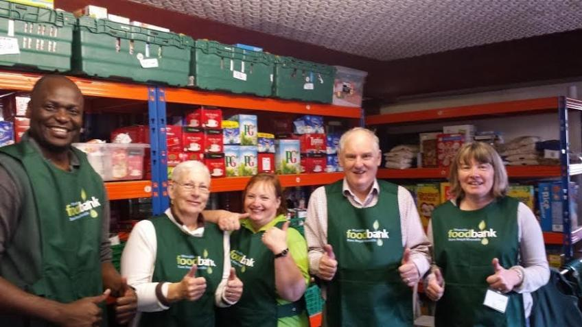 Support for the Rhondda Foodbank