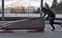 Get Dom Bobsleighing for the Youth Olympics 2016