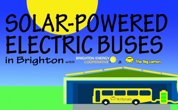 The big lemon solar bus project image