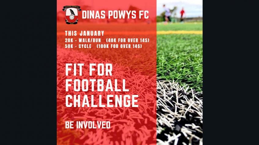 DPFC Fit For Football Challenge  WALK RUN CYCLE