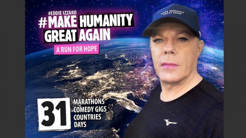 MAKE HUMANITY GREAT AGAIN - A RUN FOR HOPE - EURO€