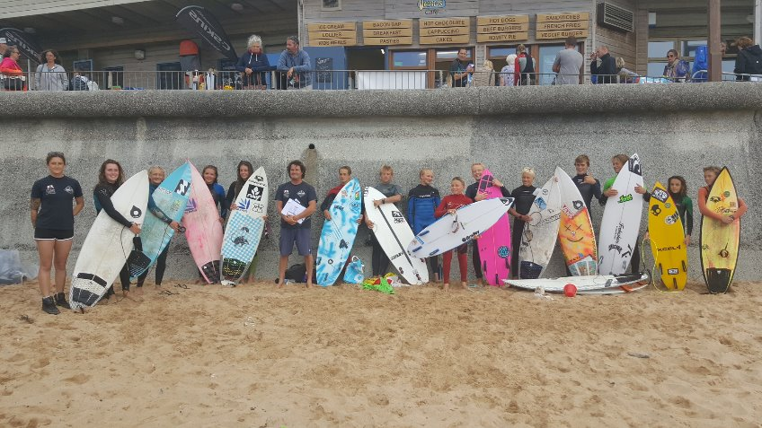 Team England Junior Surfers - Euro Juniors 2016