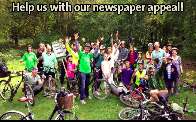 Green Newspaper for Canterbury and Whitstable