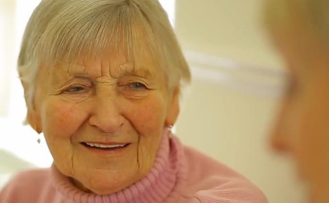 Help us make 100 older people happier in somerset! image