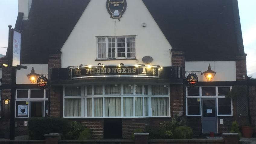 KEEPING THE FISHMONGERS ARMS, SOUTHGATE AFLOAT