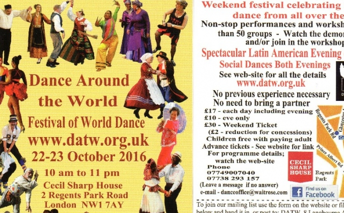 Dance around the world festival image