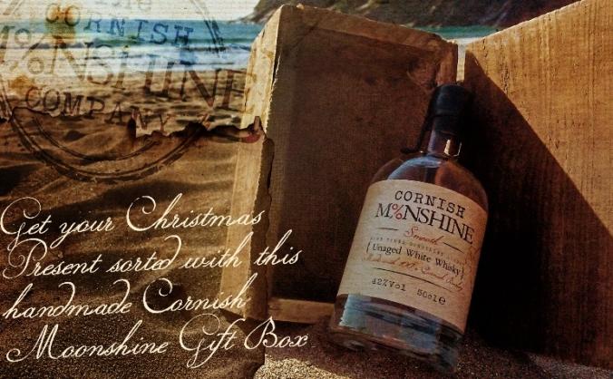 Cornish moonshine - unaged white whisky! image