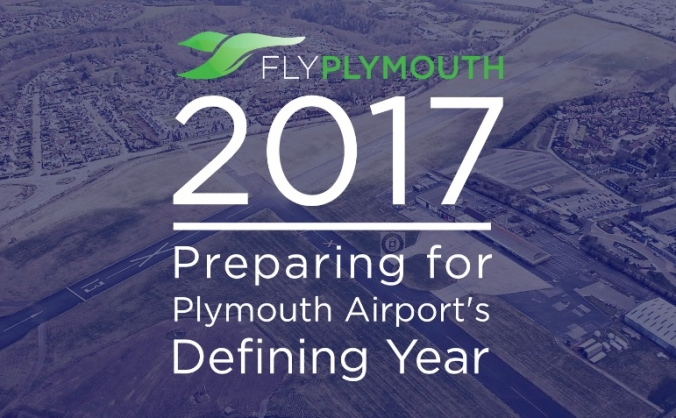 2017: plymouth airport's defining year ✈ image