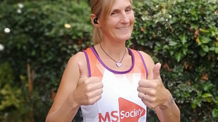 MS1073 - RUNNING 1073 miles to raise £1073 pounds
