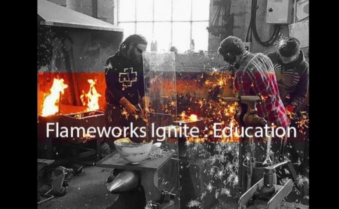 Flameworks ignite : education image