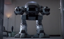 Life Size ED 209 from Robocop