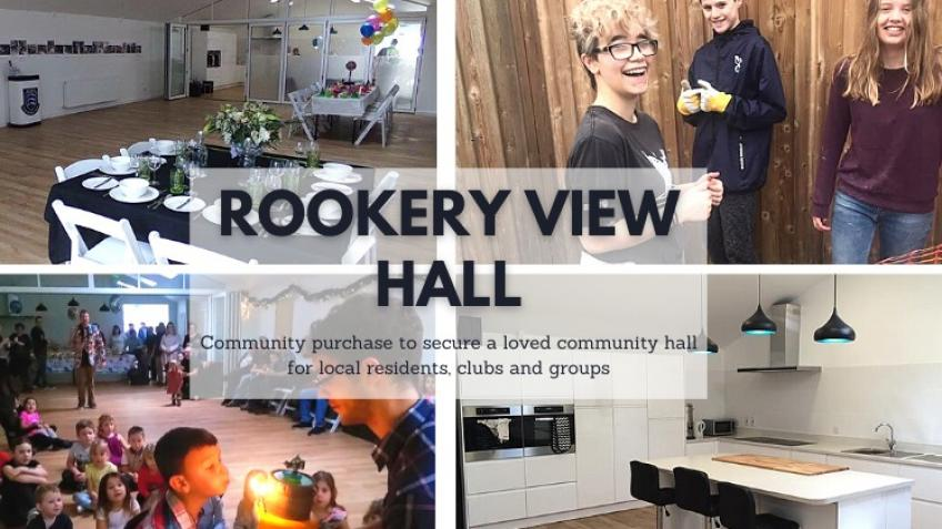 Community purchase of Rookery View Hall