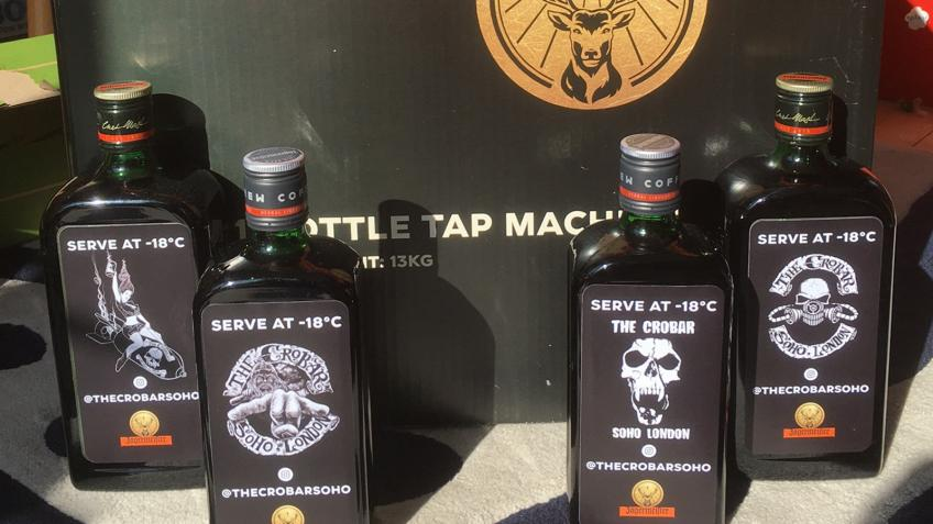 Win a Jagermeister machine and 4 bottles of Jager