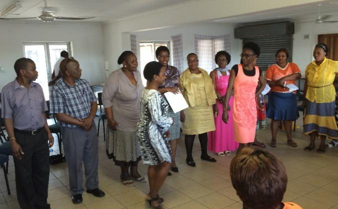 'SEEDS' 'IMBEWU' Community Dialogue South Africa