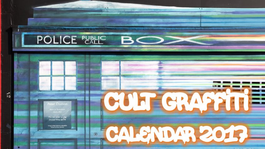 Cult Graffiti Calendar 2017