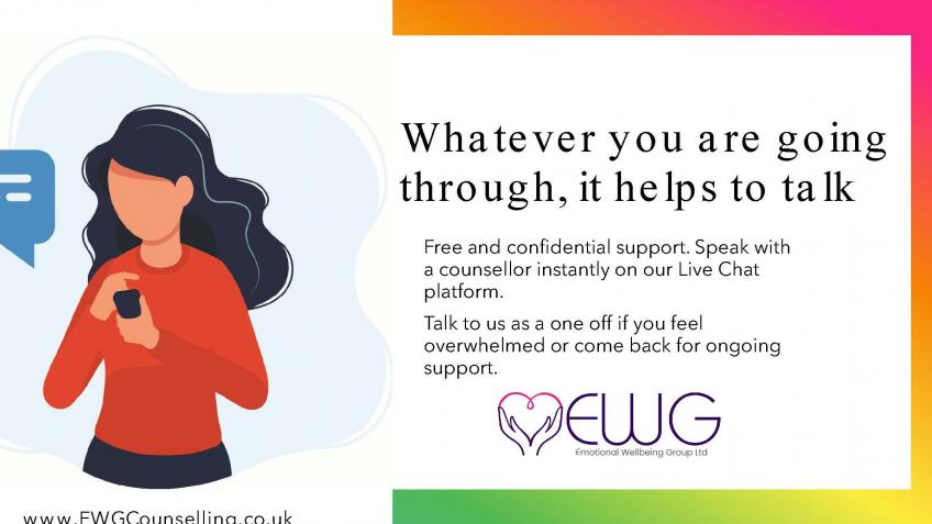 online counselling Covid support