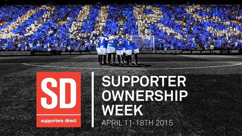 Supporter Ownership Week 11th - 18th   April 2015