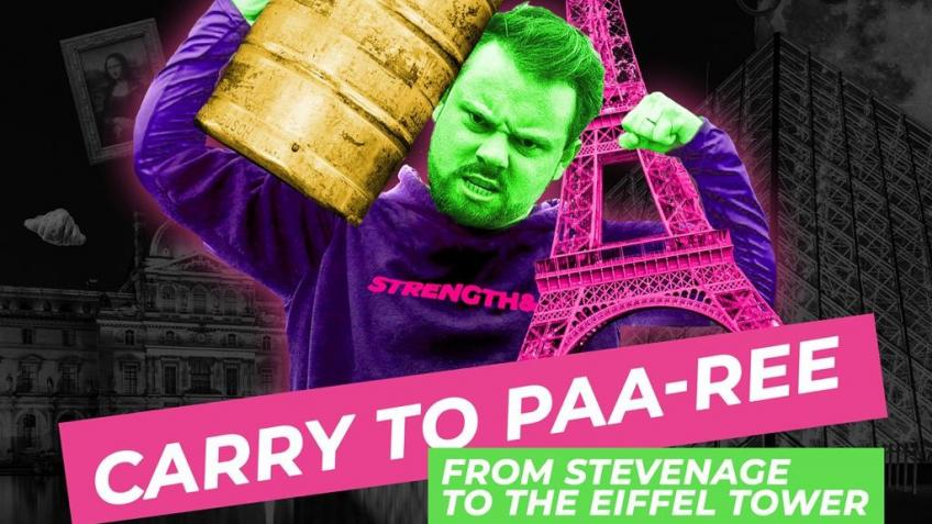 I'm Carrying a Keg to Paris