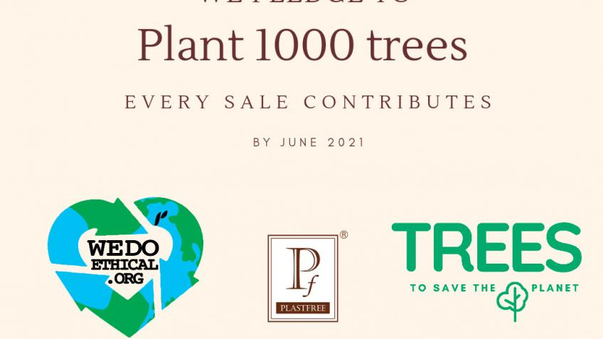 We want to plant 1000 trees by June 2021!