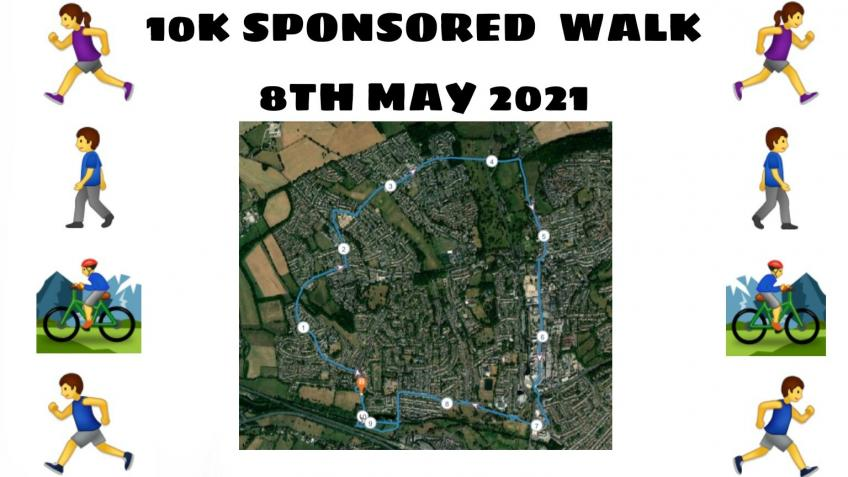 10km Sponsored Walk for The Youth Booth Hub!