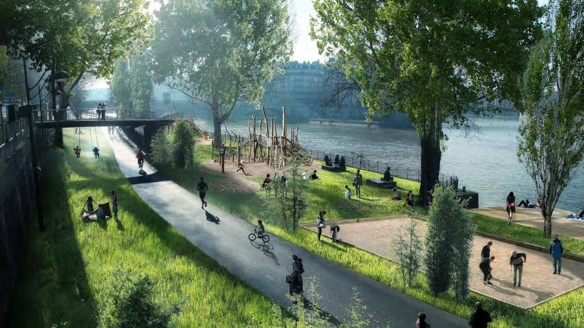 Paris pedestrian fund