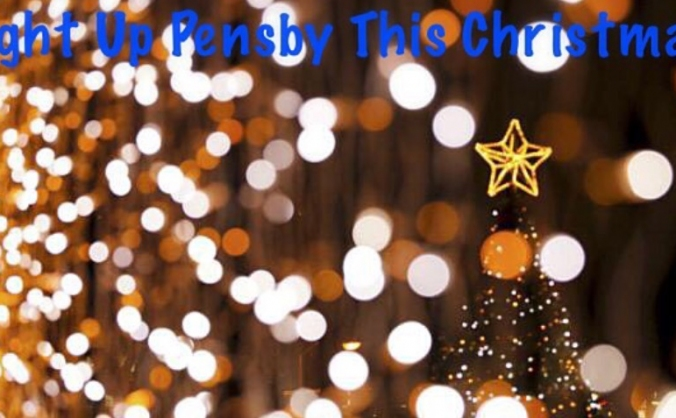 Light up pensby this christmas image